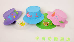 Aliexpress Com 4 Pcs Eva Handmade Hat For Kids And Child