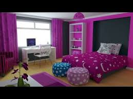 Girls Bedroom With Purple Decorating Ideas