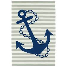 Nautical Coastal & Beach Rug Designs Shades of Light