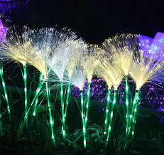 Waterproof LED Fiber Reed Lights Outdoor Decorative Lighting for