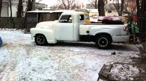 100 1950 Chevy Truck Frame Swap Pickup With S10 Chassis Conversion YouTube