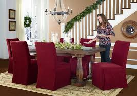 Kitchen Chair Slipcovers Elegant 98 Dining Room Covers Christmas Coversbut