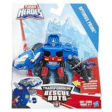 Rescue Bots - Playskool Heroes - Optimus Prime - REX DINOSAUR ...