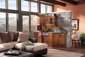 Merillat Kitchen Cabinets Complaints by Merillat Masterpiece Cimmaron In Rustic Birch Cinnamon Merillat