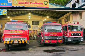 100 Red Fire Trucks Colored Fire Trucks Inside The Iloilo Fire Station