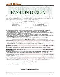 CV FASHION DESIGNER