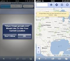 Can t disable Location Services in Safari on iPhone