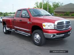 2009 Dodge Ram Quad Cab 3500hd Cummins Turbo Blue Tec Diesel 4x4 Big ...
