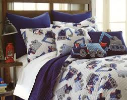 100 Toddler Truck Bedding Cotton 2pc Boys Quilt Set Twin S Cars