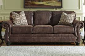 Ashley Larkinhurst Sofa And Loveseat by Breville Queen Size Sleeper Sofa In Espresso