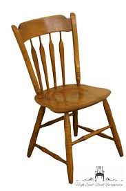 Details About ETHAN ALLEN Heirloom Nutmeg Maple Colonial Style Arrowback  Accent / Dining Si...