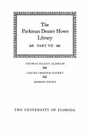 The Parkman Dexter Howe Library