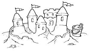 Sand Castles Drawing Images Pictures
