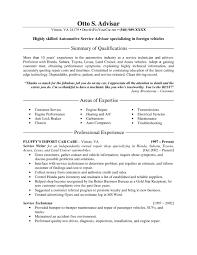 Automotive Resume Sample 11 Amazing Examples Livecareer