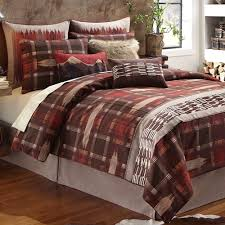 Wagner Rustic Plaid Comforter Bedding By Croscill
