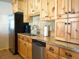 Kitchen Remodel Knotty Pine Kitchen Cabinets Solutions For