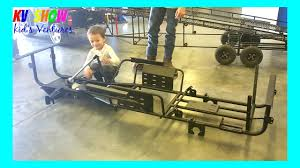 100 Build Mini Monster Truck Picking Up The Frame For The YouTube