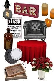 1920s Speakeasy Party Decor