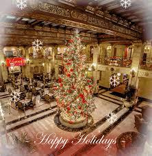 Join Us This Holiday Season Christmas Tree Elegance