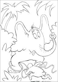 Dr Seuss Coloring Pages Corresponsables Co Printable Fish Lrge One