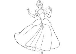 Cinderella Coloring Pages Pictures