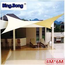 Outdoor sun shade sail Shade cloth canvas awning canopy shading