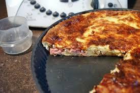 tarte sucree sans pate quiche au jambon sans pâte au thermomix facile et rapide