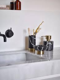 seifenspender schwarz marmor nero