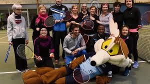mont aignan tennis mont aignan échange de balles contre le cancer