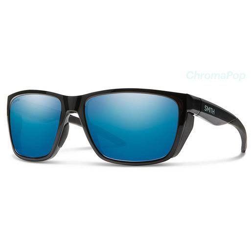 Smith Optics Longfin ChromaPop Polarized Sunglasses - Black/Blue