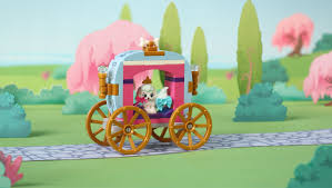 Palace Pets Pumpkin Dressed Up by The Princess Sleepover Disney Lego Com