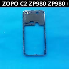 Black  New ZOPO C2 ZOPO ZP980 ZP980 frame Battery Back Cover Case