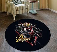coole runde teppich muster wohnzimmer schlafzimmer