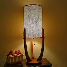 Stylish Mid Century Modern Wood Lamps Mid Century Lamp Shades