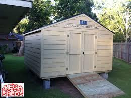 Backyard Sheds Jacksonville Fl by Mega Storage Sheds Options Hardie Plank Siding