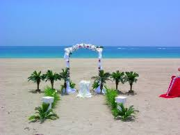 Beach Themed Wedding Reception 2