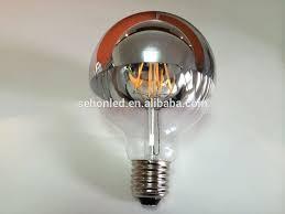 reflector bulb silver gold coating half mirror crown globe g125