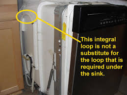 Sink Disposal Leaking From Side by The Most Common Dishwasher Installation Defect