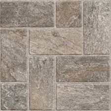 style selections 12 in x 12 in quartz slate pattern