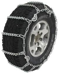 100 Snow Chains For Trucks Glacier VBar Tire With Cam Tighteners 1 Pair Glacier