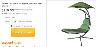 vivere original dream chair for 224 00 shipped walletup com