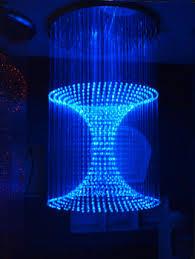 Fiber Optic Ceiling Lamp by Side Emitting Optic Fiber For Lighting Decoration Fibre Optic
