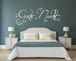 details zu gute nacht wandtattoo aufkleber schlafzimmer spruch wanddeko sz035