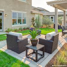 Add Dimension To Your Outdoor Decor By Mixing Floor Planters And