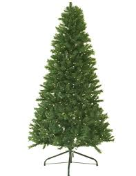 9 Ft Pre Lit Canadian Pine Artificial Christmas Tree Clear Lights Medium