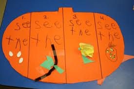 Lumpkin The Pumpkin by Pumpkin Investigations Green Words Describe Outside Brown Words