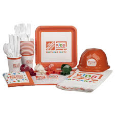 Home Depot Wood Patio Cover Kits by Kids Workshop Birthday Party Supplies Kit 99 Piece 79006 The