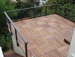 teak deck tiles idea doherty house