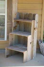 Reclaimed Wood Shelf Diy by Best 25 Outdoor Shelves Ideas On Pinterest Bookshelf Pantry