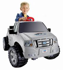 100 Power Wheels Fire Truck Lil Ford F150 6Volt Batteryed RideOn